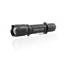ASALITE RECHARGEABLE 5W LED ZOOM FLASHLIGHT 1X2200MAH 18650